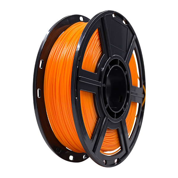 Flashforge PLA 3D Printing Filament 1.75mm 0.5KG/Roll for Dreamer,  Adventurer 3 and Finder Series (Orange)
