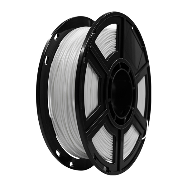 Flashforge PLA 3D Printing Filament 1.75mm 0.5kg/roll for Adventurer 3, Dreamer and Finder Series (White)