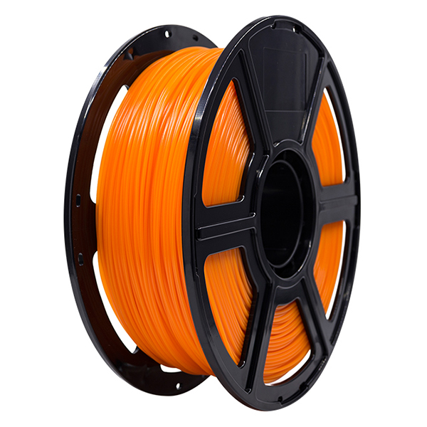 Flashforge PLA 3D Printing Filament 1.75mm 1KG/Roll for Creator Pro, Creator 3 and Guider 2 series (Orange)