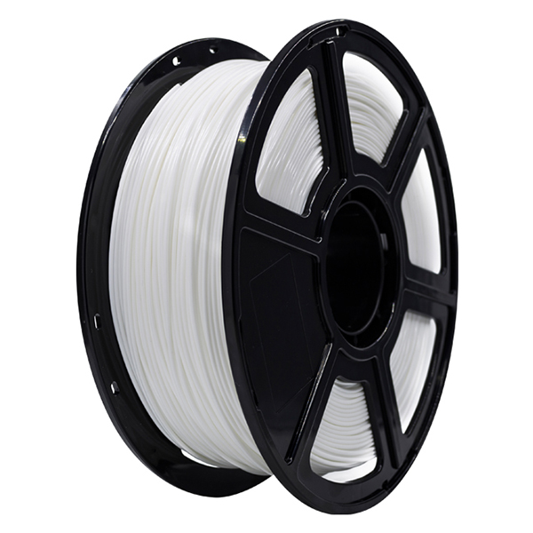 Flashforge PLA 3D Printing Filament 1.75mm 1KG/Roll for Creator Pro, Creator 3 and Guider 2 series (White)