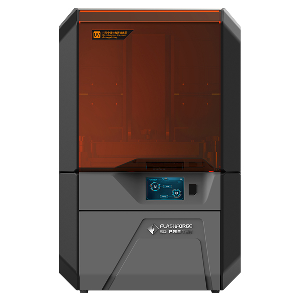 Flashforge Hunter DLP 3D Printer for Dental and Jewelry Industry Durability & Fine Details Guaranteed