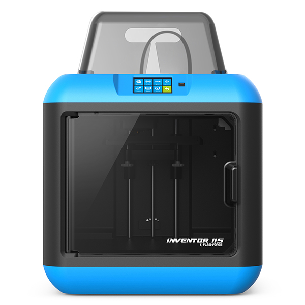 Flashforge Inventor 2S 3D Printer with Intelligent Door, Wi-Fi, USB for Education