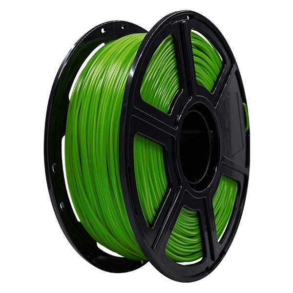 Flashforge PLA 3D Printing Filament 1.75mm 1KG/Roll for Creator Pro, Creator 3 and Guider 2 series (Green)