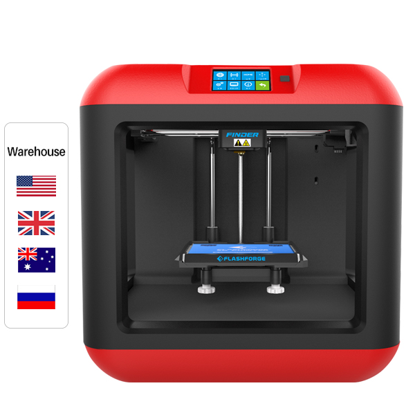 Flashforge Finder 3D Printer with Cloud, Wi-Fi, USB for Education