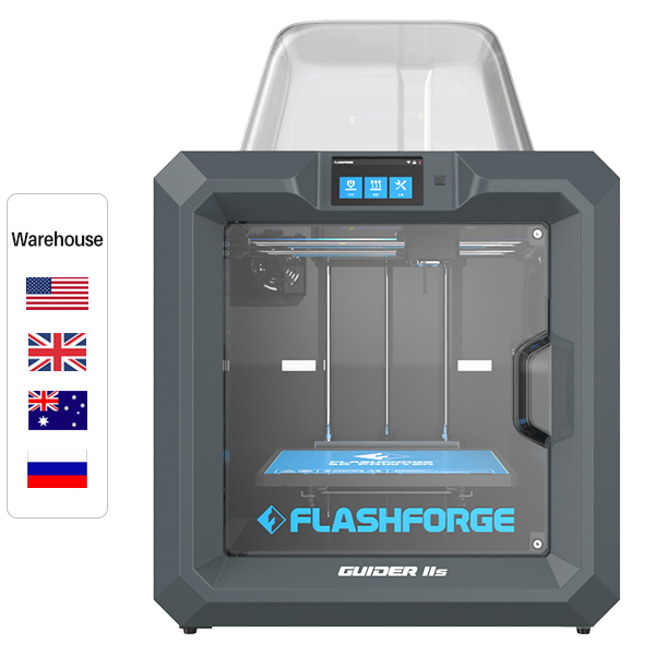 Flashforge Guider IIs Industrial Large-Format 3D Printer(High temperature version)