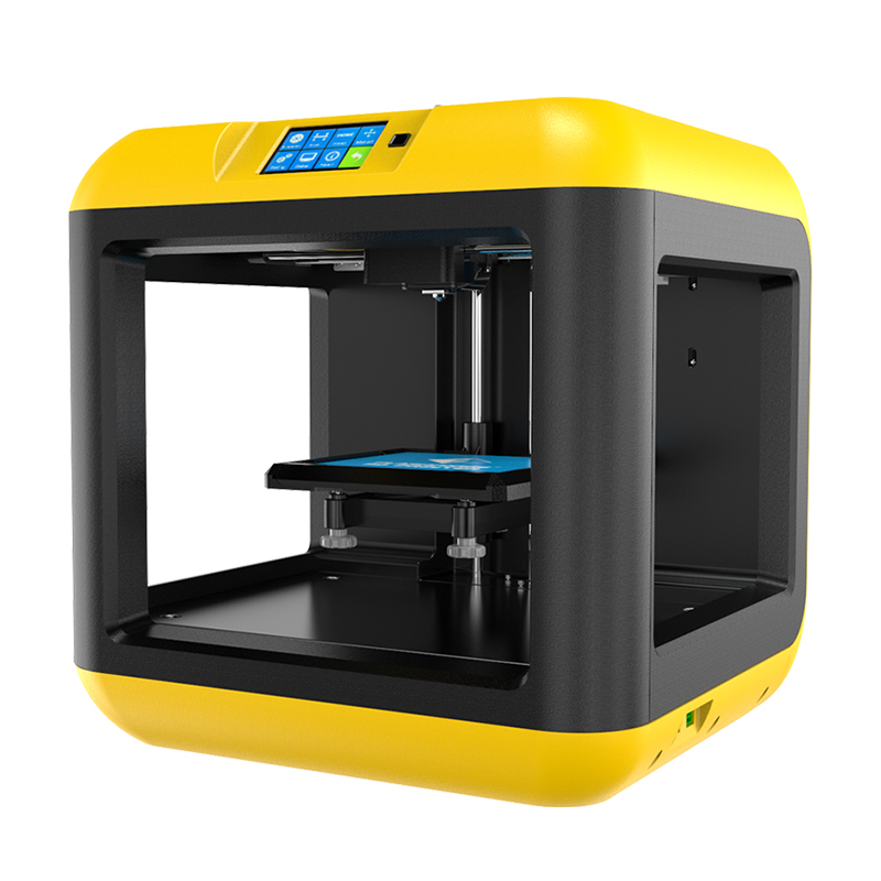 Fully Enclosed,Touch Screen,3D Printer Houses,School 140 x 140 x 140 mm Flashforge Finder Lite 3D Printers Removable Platform Build Volume Yellow
