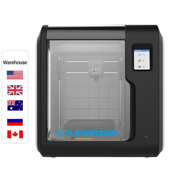 Flashforge Adventurer 3 Auto Level 3D Printer 45dB Ultra-Mute Cloud Printing