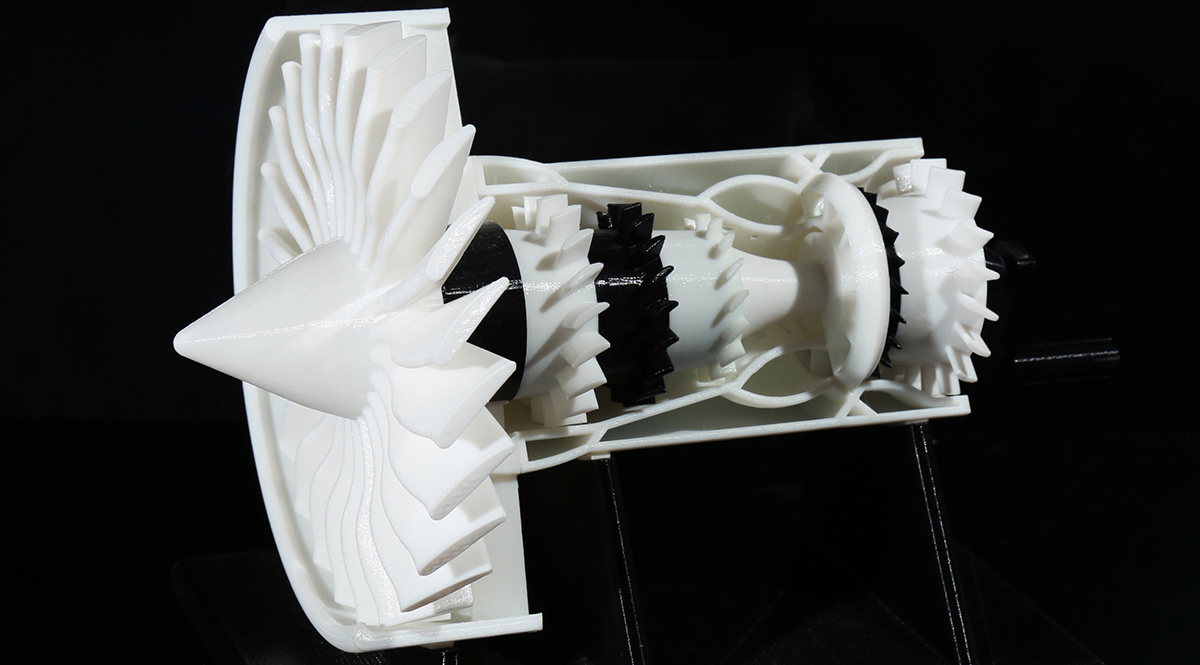 Flashforge Creator Pro 3d printed object sample B | Flashforgeshop