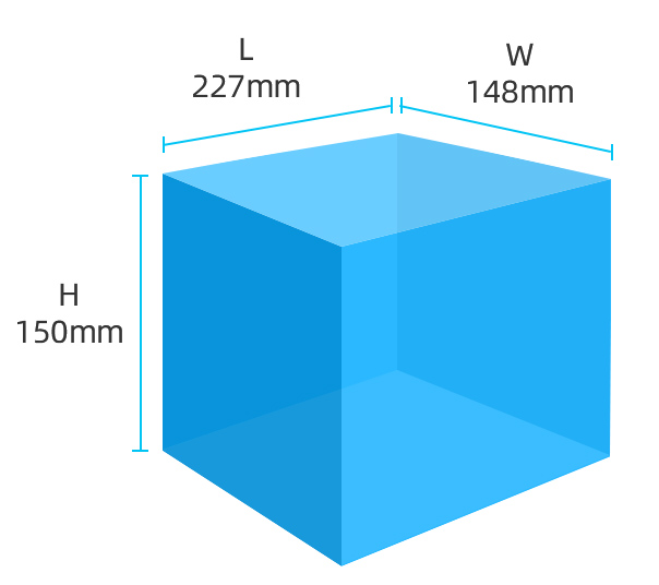 Flashforge Creator Pro 3d printer large build volume 227*148*150mm | Flashforgeshop