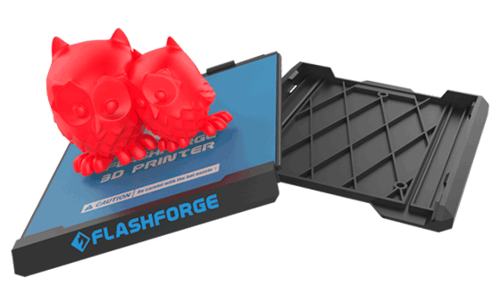 Flashforge Finder 3d printer removeable build plate | Flashforgeshop