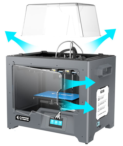 Flashforge Creator Pro 2 3d printer PLA filament printing | Flashforgeshop