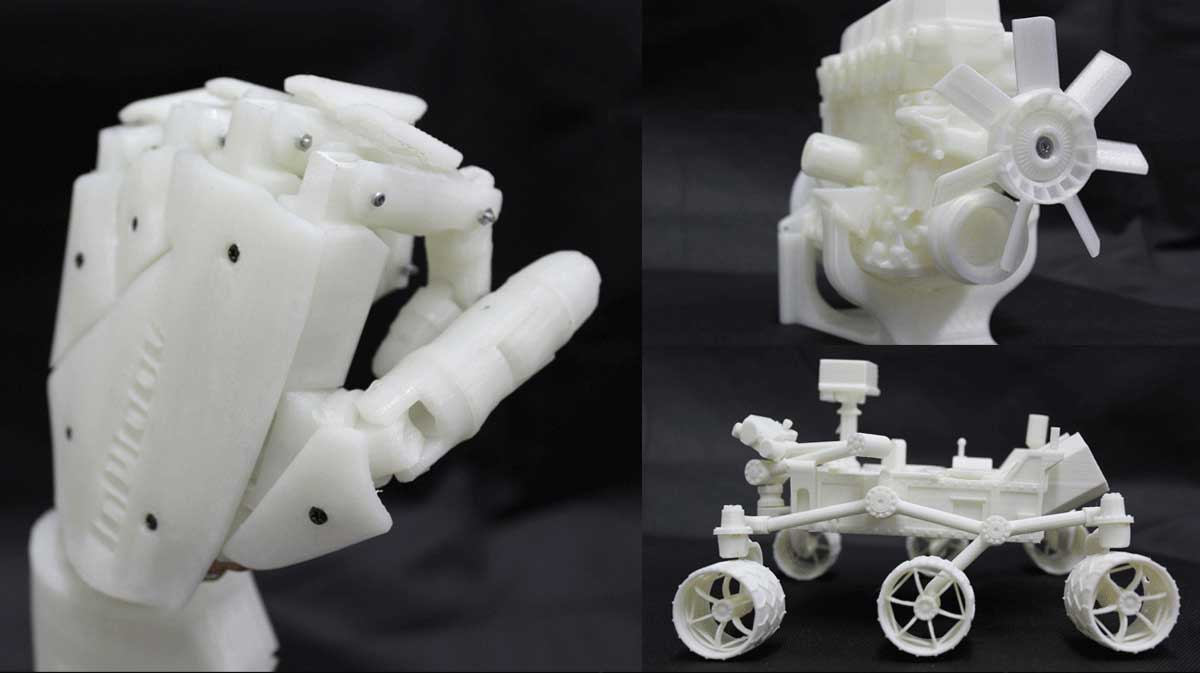 Flashforge Dreamer 3d printed object sample A | Flashforgeshop