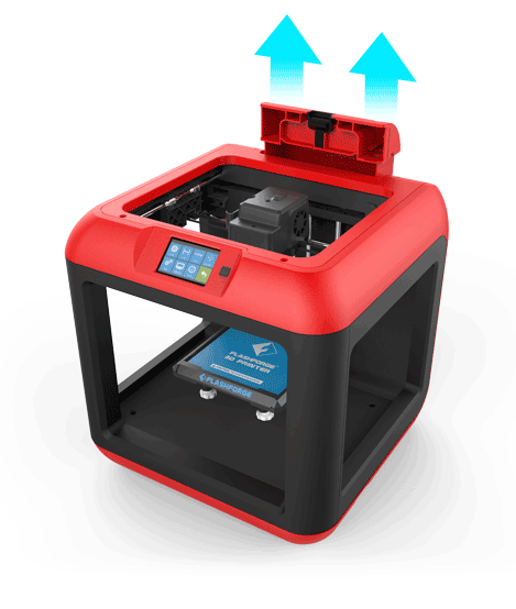 Flashforge Finder 3d printer built-in 3d filament box | Flashforgeshop