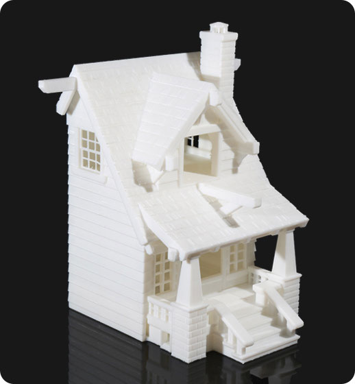 Voxelab Aquila 3d printed architectural design | Flashforgeshop
