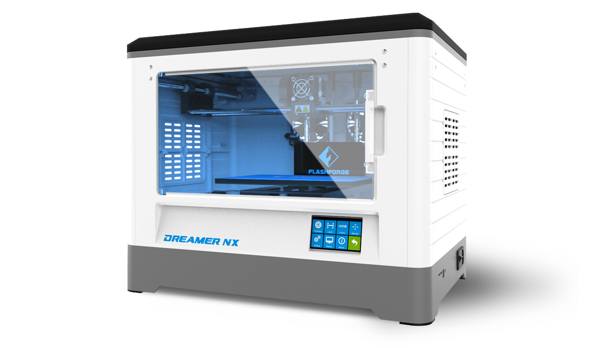 Flashforge Dreamer NX 3d printer smart, reliable & affordable | Flashforgeshop