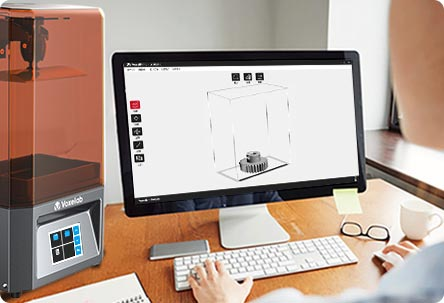 Voxelab Proxima 6.0 LCD 3d resin printer two slicing software | Voxelab3dp