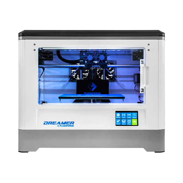 Flashforge Dreamer 3D Printer Easy to Use Dual Extruder Tailored at Beginners