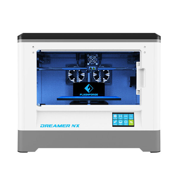 Flashforge Dreamer NX 3D Printer Fully Assembled Single Extruder For Family