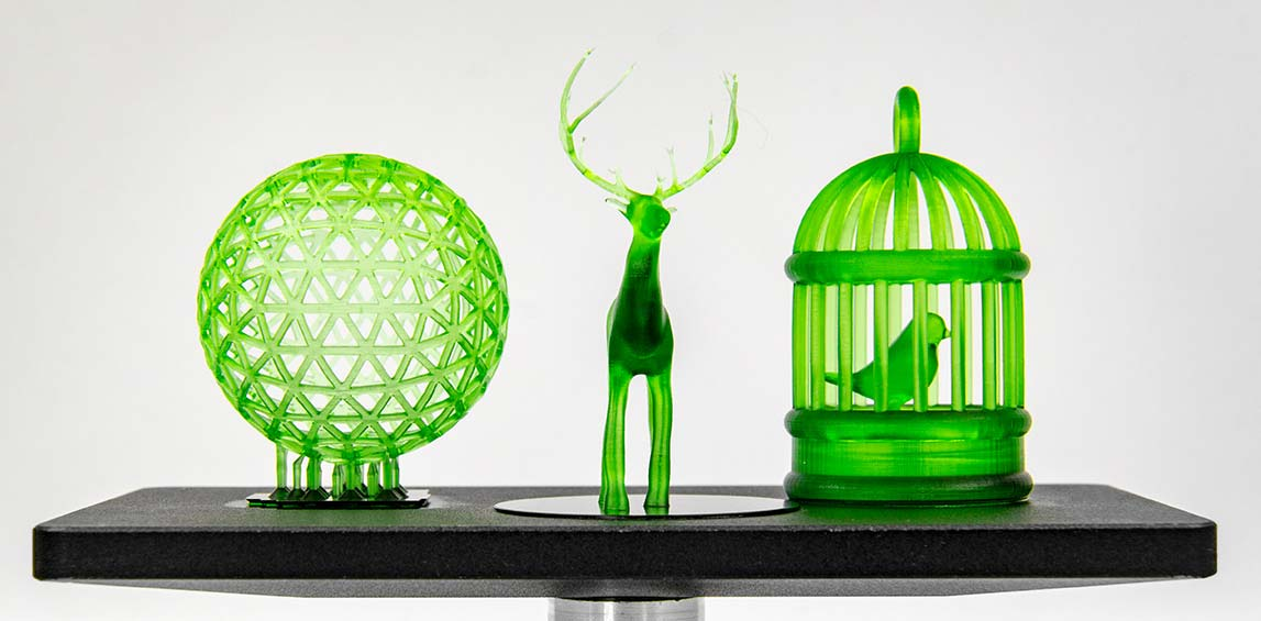Voxelab Proxima 6.0 LCD 3d resin printer prints several models at the same time | Voxelab3dp