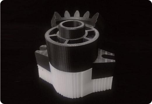 Flashforge Creator 3 ABS+HIPS 3d printing sample | Flashforgeshop