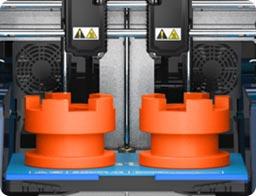 Flashforge Creator 3 3d printer supports duplication 3d printing | Flashforgeshop