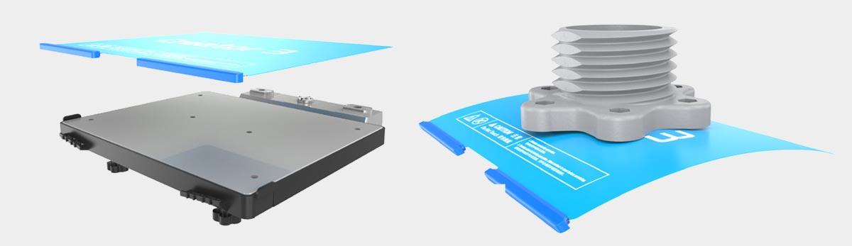 Flashforge Creator 3 3d printer flexible steel plate | Flashforgeshop