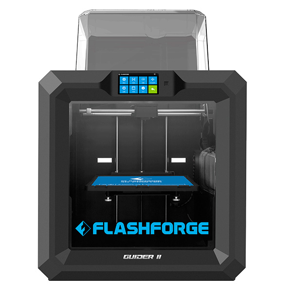 Flashforge Guider II 3D Printer Large-Format, Resume Printing for Serious Hobbyists and Professionals with Production Demands