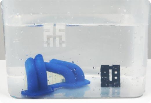 Flashforge Creator 3 PVA+PLA 3d printing sample | Flashforgeshop