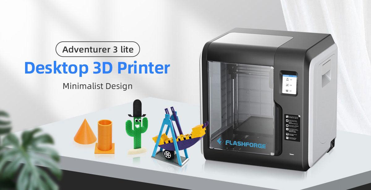 Flashforge Adventurer 3 Lite 3D Printer Auto Leveling Super Cost-effective for Family Use | Flashforgeshop