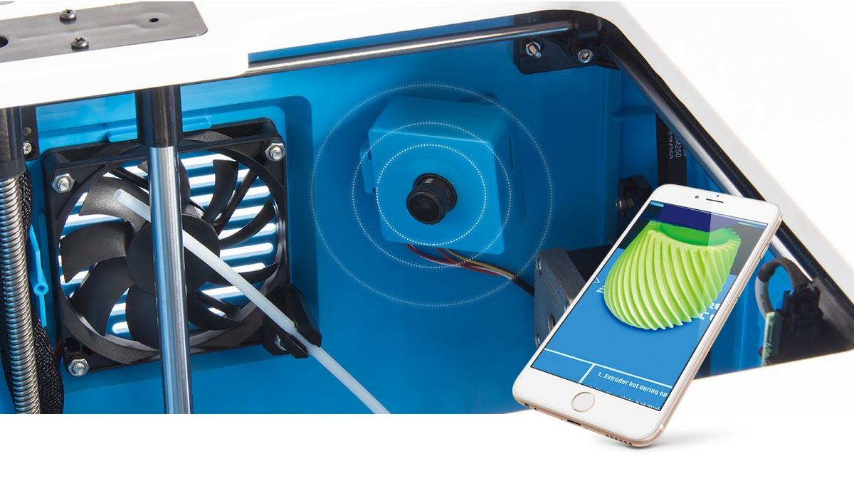 Flashforge Inventor 3d printer monitor real-time 3d printing progress on app | Flashforgeshop