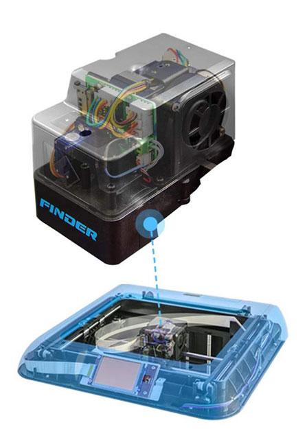 Flashforge Finder Lite 3d printer enclosed design for safe use | Flashforgeshop