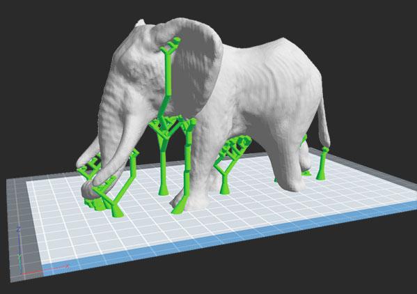 FlashPrints smart supports for innovative 3d printing | Flashforgeshop