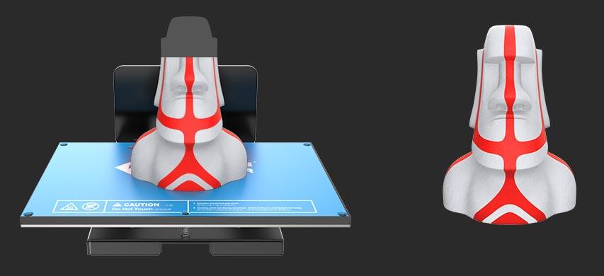 Flashforge Inventor 3d printer resumes 3d printing from power failure | Flashforgeshop
