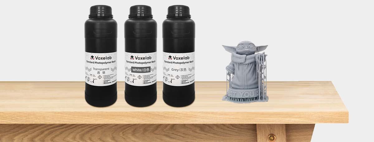 Voxelab Polaris LCD 3d resin printer supports wide range of 3d materials | Flashforgeshop