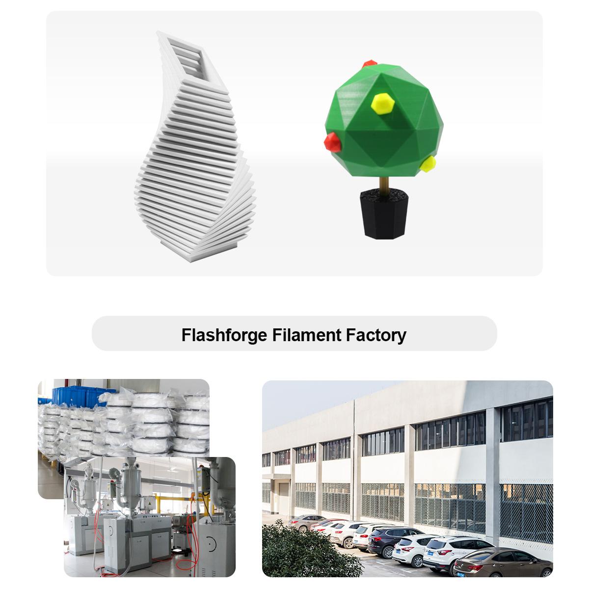 Flashforge Filament Factory | Flashforgeshop
