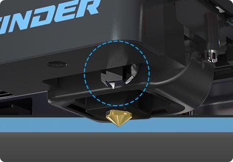 Flashforge Finder Lite 3d printer auto bed leveling feature | Flashforgeshop