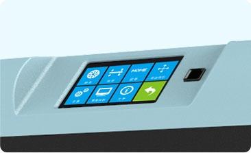 Flashforge Finder Lite 3d printer smart touchscreen| Flashforgeshop