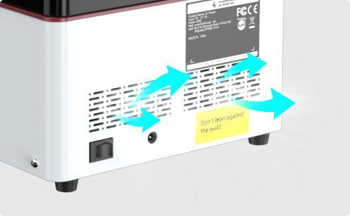 3d printer Heat Dissipation System | Flashforgeshop