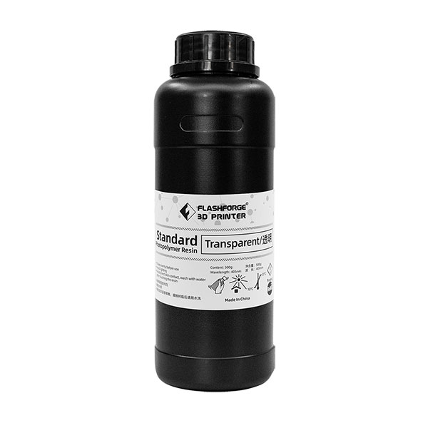 Flashforge 405nm Standard Photopolymer Resin Multi-color (500ml)
