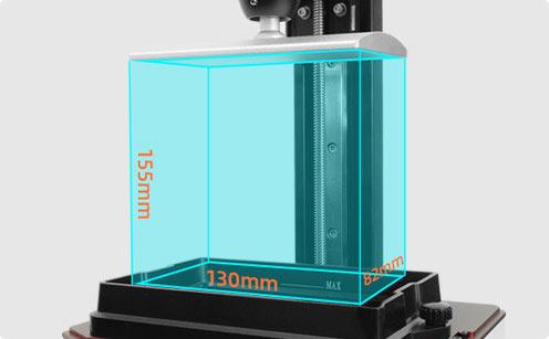 Foto 6.0 builds 130*78*155 mm model | Flashforgeshop