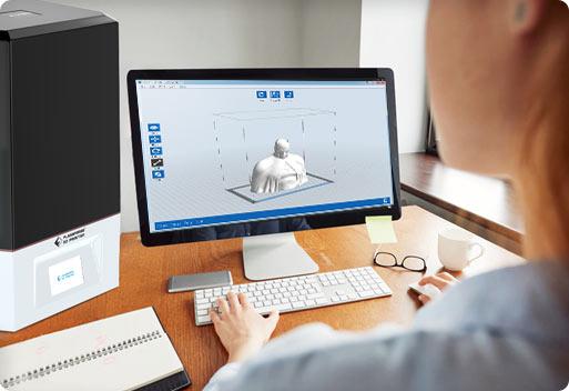 LCD resin 3d printer slicer | Flashforgeshop
