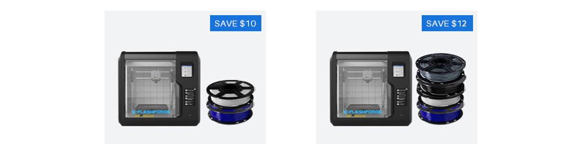 Adventurer 3 PLA Filament bundle | Flashforgeshop