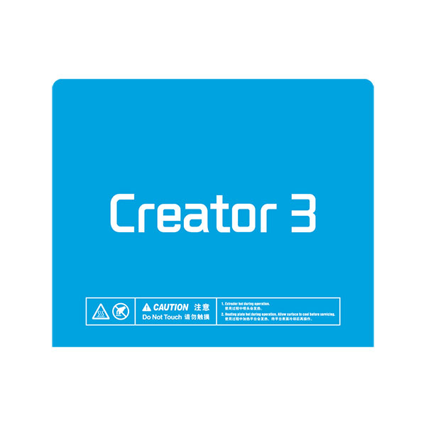 Build Plate Tape for Creator 3 3D Printer