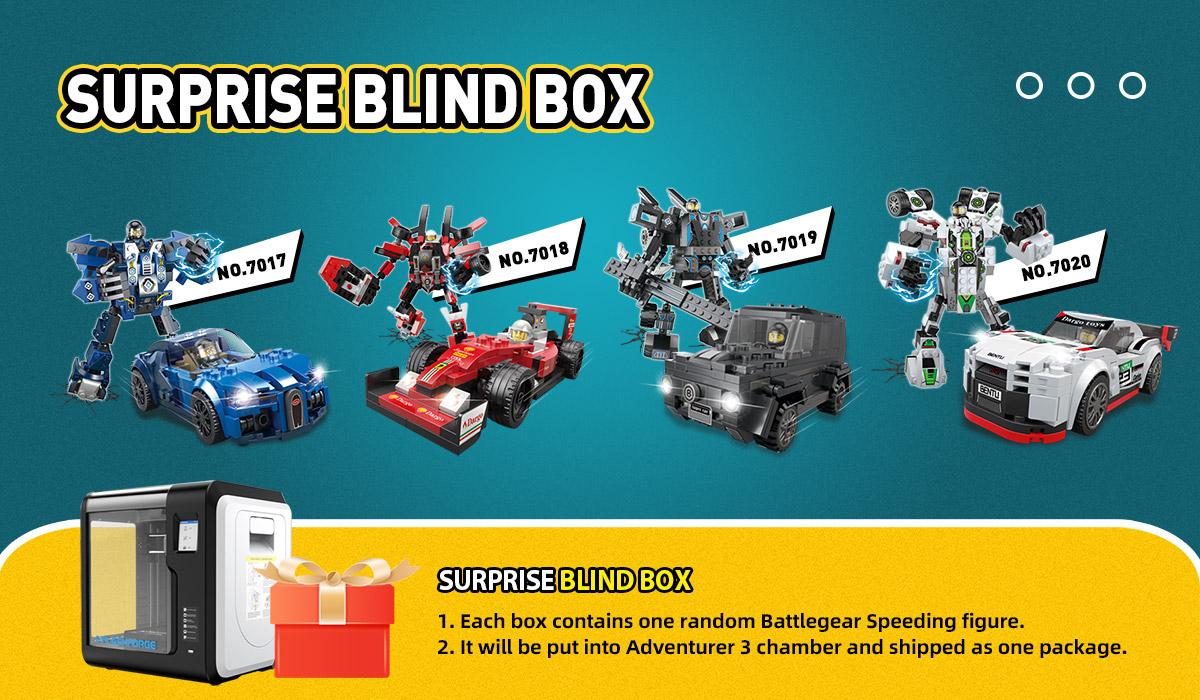 Flashforge Adventurer 3 3D Printer with Blind Box | Flashforgeshop