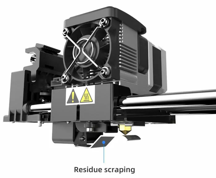 3d printer anti-scrape design | Flashforgeshop