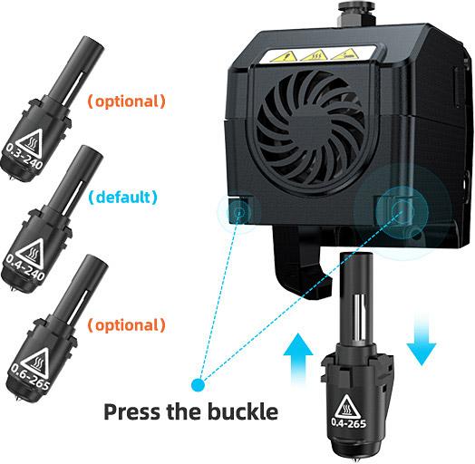 Flashforge Adventurer 4 Demountable Nozzle Design | Flashforgeshop