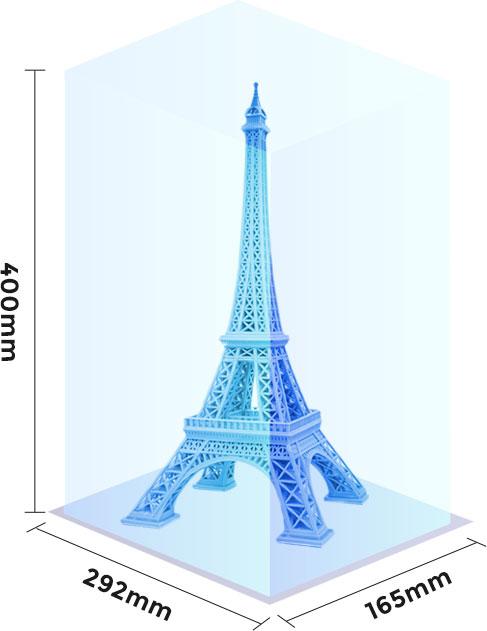 Large LCD Resin 3D Printer Flashforge Foto 13.3